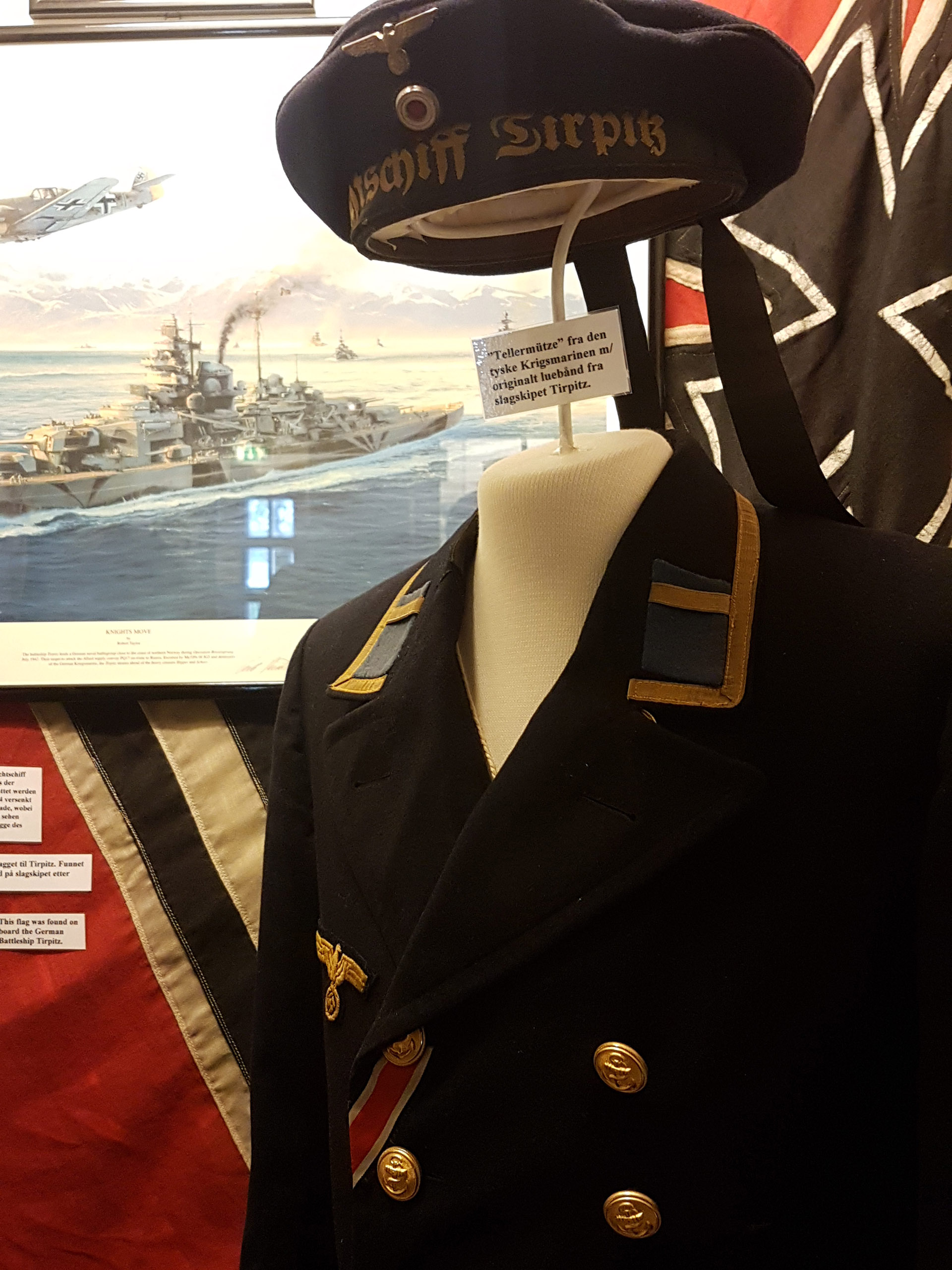 Tirpitz uniform