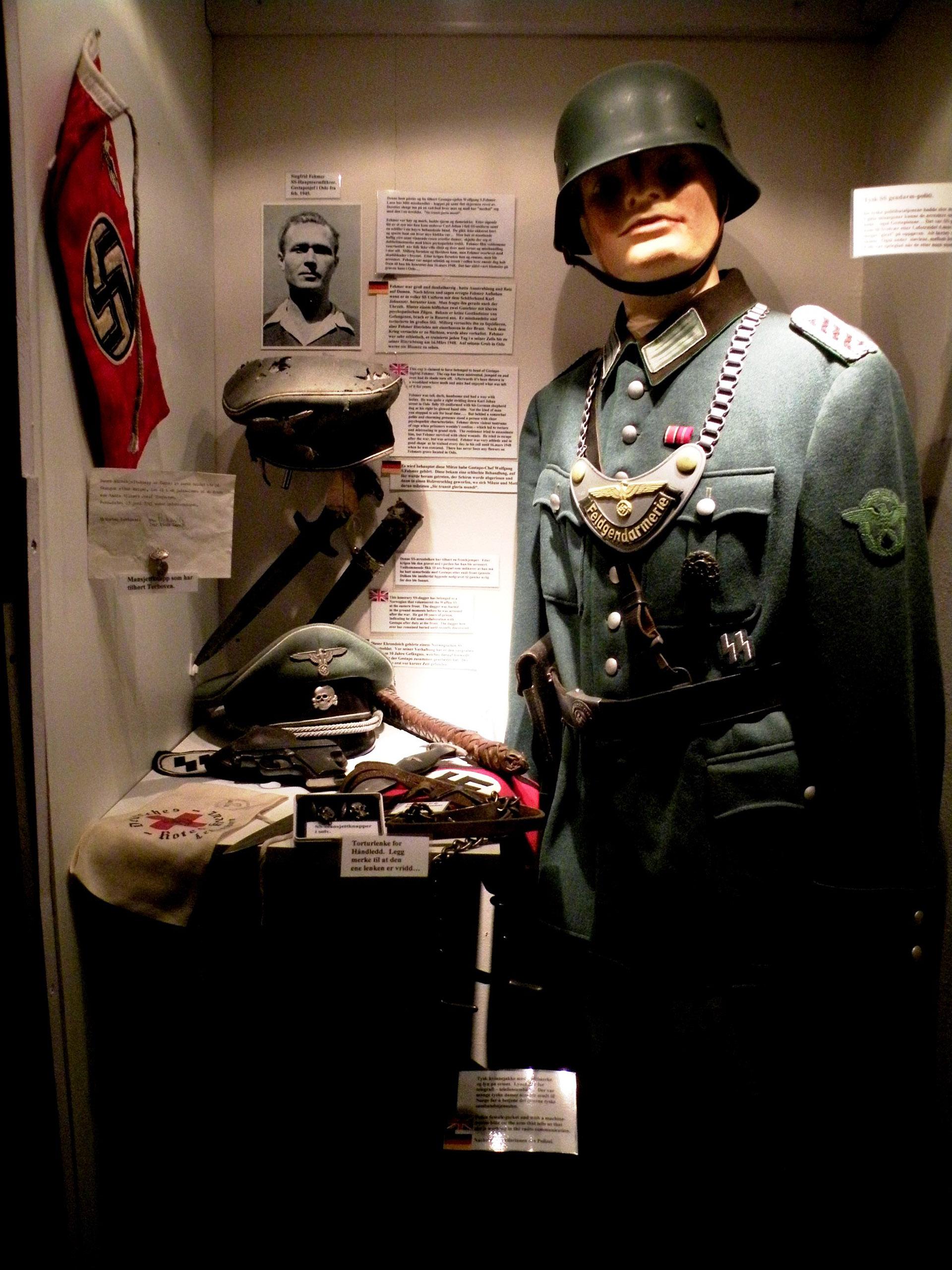 Tysk gendarm medlem av SS