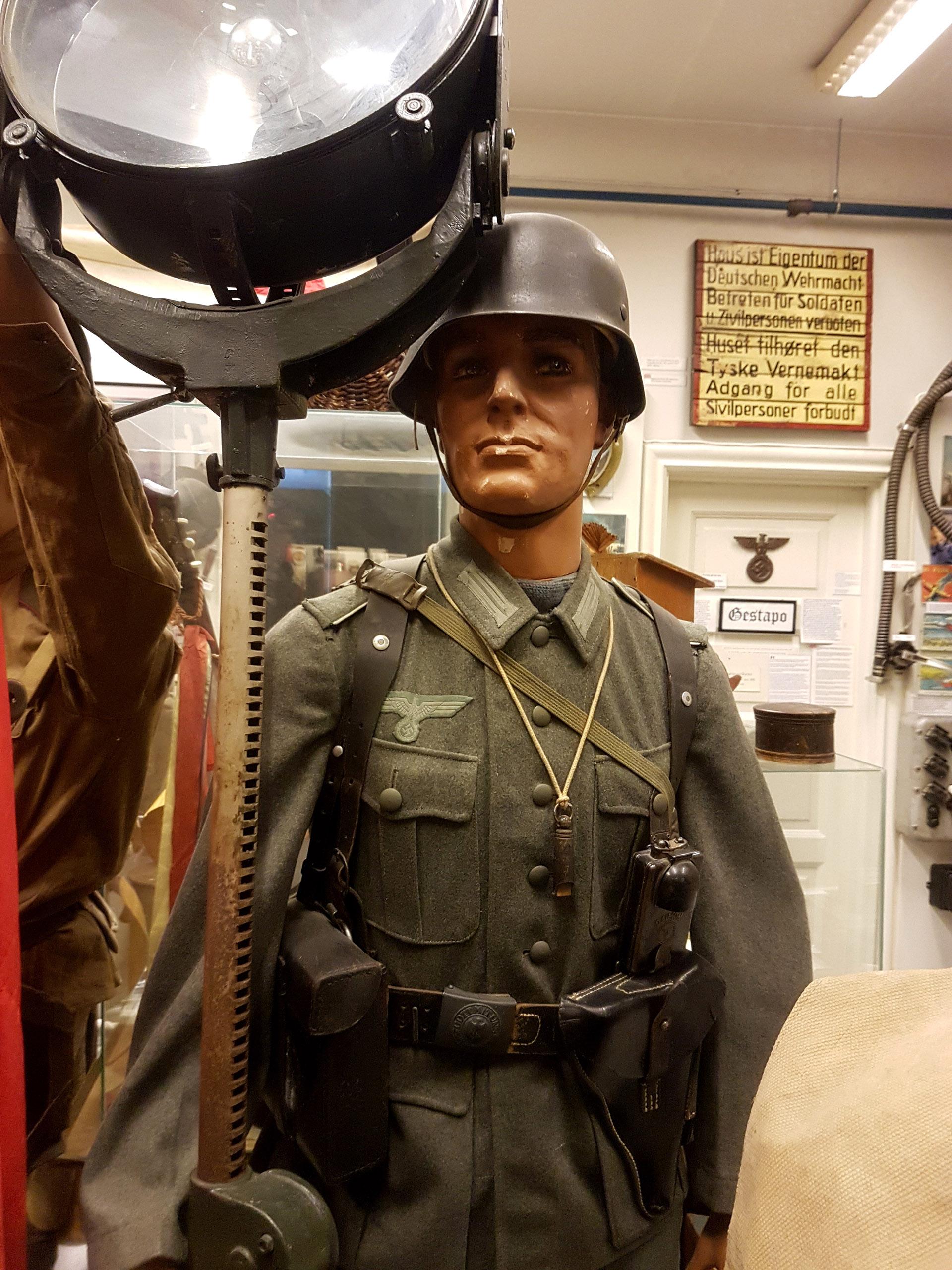 Wehrmacht vaktsoldat